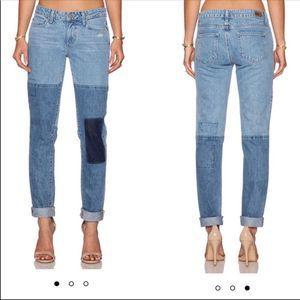 Paige Jimmy Jimmy Skinny Patchwork Jeans
